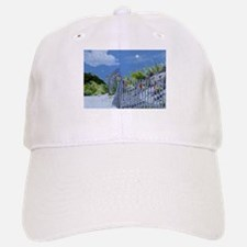 Beach Fence and Dune for Christmas Baseball Baseball Baseball Cap