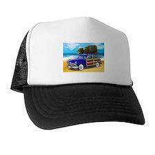 Xmas Tree Woodie Trucker Hat