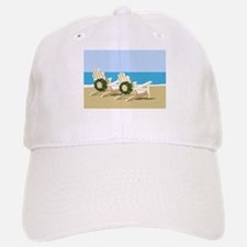 Beach Chairs with Wreaths Baseball Baseball Baseball Cap