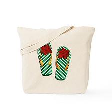 Xmas Flip Flops Tote Bag