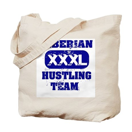 Liberian hustling team Tote Bag