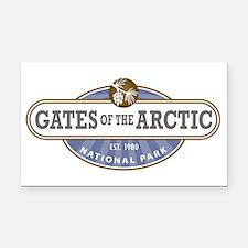 Gates of the Arctic National Park Rectangle Car Ma
