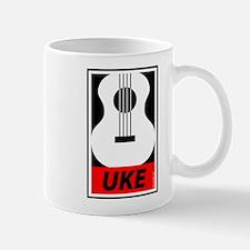 Obey the Uke Mugs