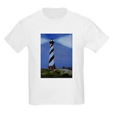 Cape Hatteras Lighthouse Christmas Lights T-Shirt