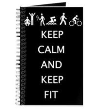 Keep calm and keep fit Journal
