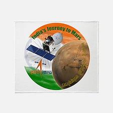 India's Mars Orbiter (MOM) Throw Blanket