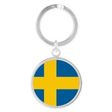 Swedish Flag Keychains