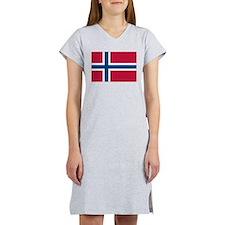 Norwegian Flag Women's Nightshirt