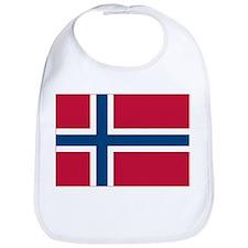 Norwegian Flag Bib