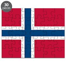 Norwegian Flag Puzzle