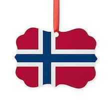 Norwegian Flag Ornament
