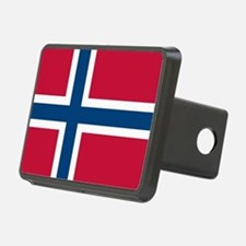 Norwegian Flag Hitch Cover