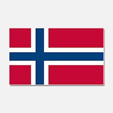 Norwegian Flag Car Magnet 20 x 12