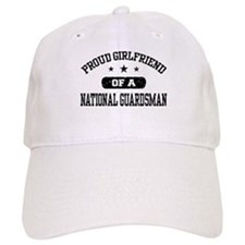 Proud Girlfriend of a National Guardsman Baseball Cap