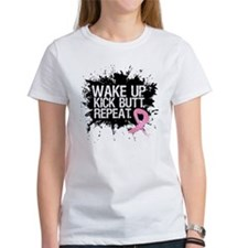 Fight Like a Warrior Breast Cancer Tee