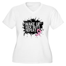Fight Like a Warrior Breast Cancer T-Shirt