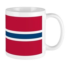 Norwegian Flag Mugs