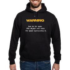 Mass Warning - Funny Physics Joke - Hoodie