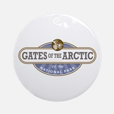Gates of the Arctic National Park Ornament (Round)