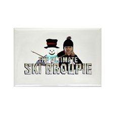 Top Prospect Ski CC Rectangle Magnet