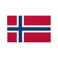 Norwegian Flag 3'x5' Area Rug