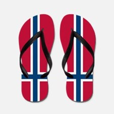 Norwegian Flag Flip Flops