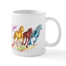 Watercolor Horses Mugs