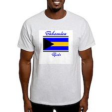 Bahamian roots Ash Grey T-Shirt