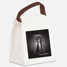 Chuppah Dark Canvas Lunch Bag