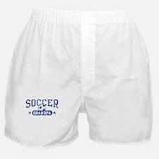 Soccer Grandpa Boxer Shorts