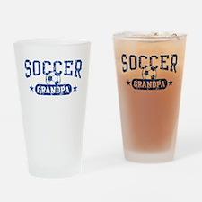 Soccer Grandpa Drinking Glass