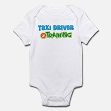 Taxi Driver in Training Infant Bodysuit