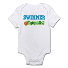 Swimmer in Training Infant Bodysuit