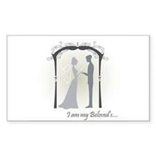 Beloved Bride and Groom Decal