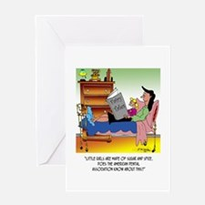 Girls, Sugar, Spice & Dentists Greeting Card