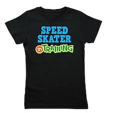Speed Skater in Training Girl's Tee