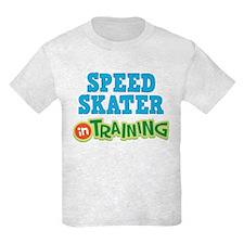 Speed Skater in Training T-Shirt