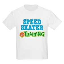 Speed Skater in Training T-Shirt