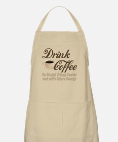 Drink Coffee Apron
