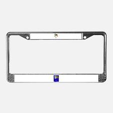 bookworm love License Plate Frame