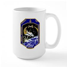 NASA STS-126 Mission Patch. Mugs