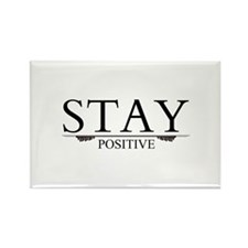Stay Positive Rectangle Magnet (10 pack)