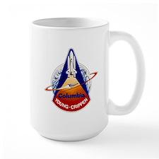 NASA STS-1 Mission Patch Mugs