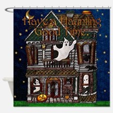 Harvest Moon's Haunted House Shower Curtain