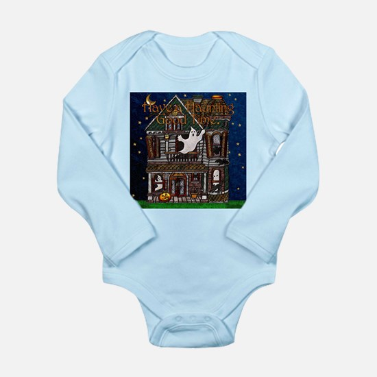 Harvest Moons Haunted House Long Sleeve Body Suit