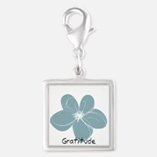 Gratitude floral Charms