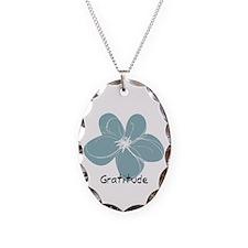 Gratitude floral Necklace