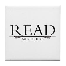 Read More Books Tile Coaster