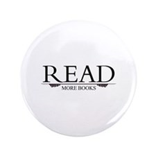 """Read More Books 3.5"""" Button (100 pack)"""