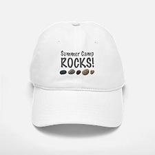 Summer Camp Rocks! Baseball Baseball Cap